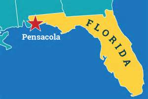 florida map pensacola related keywords suggestions for pensacola