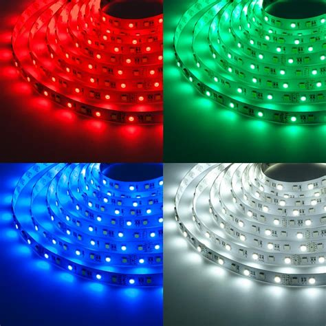 led multicolor strip lights rgbw led strip lights 12v led tape light w white and