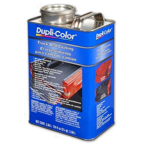 duplicolor bed armor spray dupli color trg251 truck bed coating