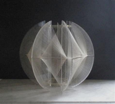 Modern String - mid century modern lucite string shade modern lighting