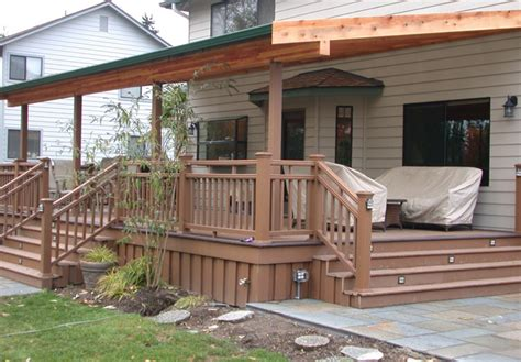covered veranda design covered back porch with patio