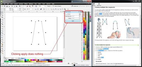 Corel Draw X4 Join Curves | join curves docker it does nothing coreldraw graphics