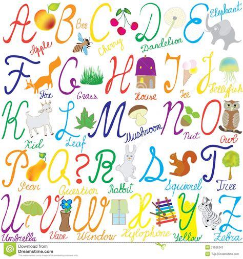 parole che iniziano con lettere straniere alfabeto con le lettere le parole e le maschere