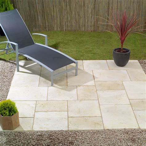 Patio Garden Designs Paving Travertine Many Uses Indoors Outdoors