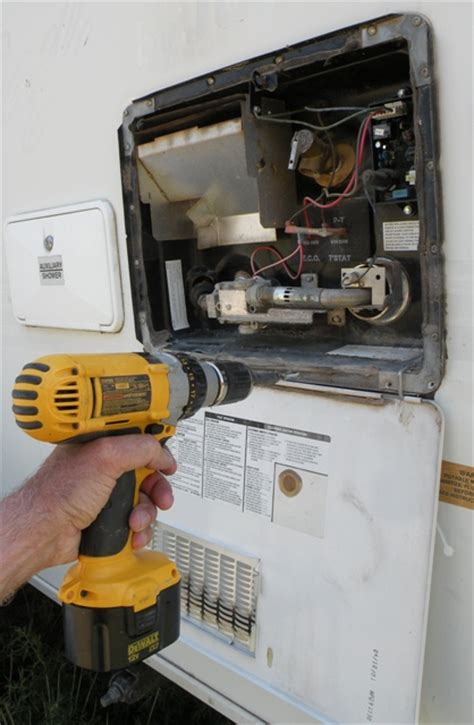 diy rv water heater replacement