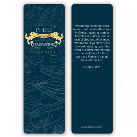 printable lds bookmarks press forward bookmark in bookmarks ldsbookstore com
