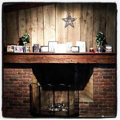 Reclaimed Brick Fireplace by Fireplace Brick And Reclaimed Barn Wood Reclaimed