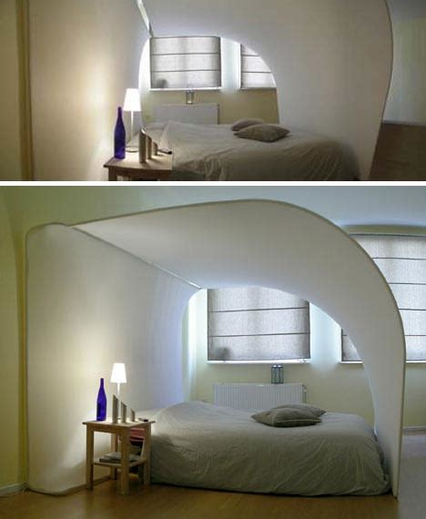 bed with built in tv exotic cocoon bed with built in projection tv bizarre but fun in a high tech way