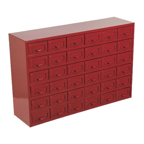 5 Drawer Steel Storage Box by Sealey Metal Cabinet Box 36 Drawer Parts Storage Boxes