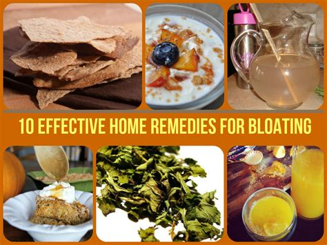 10 effective home remedies for bloating