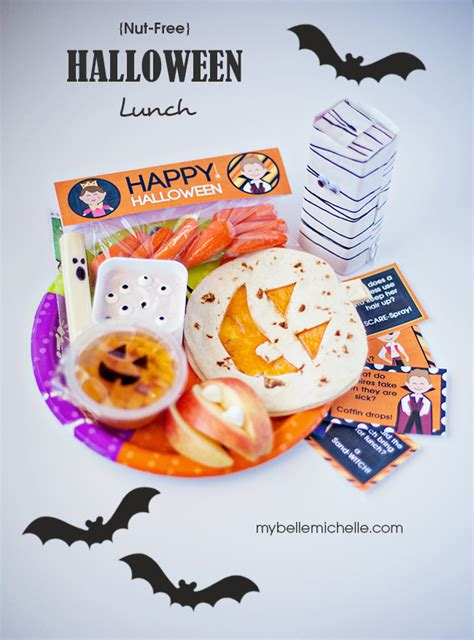 halloween themed lunch my belle michelle 187 easy fun nut free halloween themed