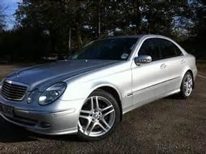 Used Mercedes Diesel For Sale Used Mercedes 2006 Diesel Class E320 Cdi Avantgarde