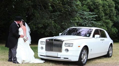 roll royce wedding rolls royce phantom wedding car hire london essex kent