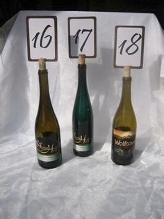 4 pc wine bottle cork placecard holders set w place cards 1000 images about place cards table numbers table