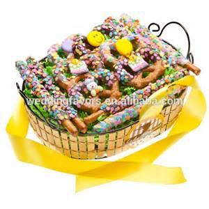 happy birthday gift baskets happy birthday pretzel gift basket products china happy birthday pretzel gift basket supplier