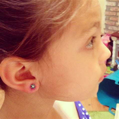 is 66 years old too old to ear bangs kid ear piercing teaches lesson in bravery