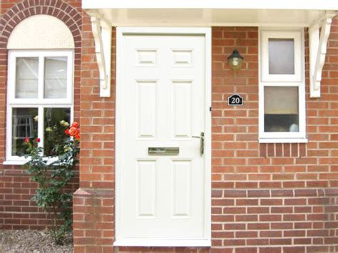 white front door regency white 3ft composite front door set flying doors