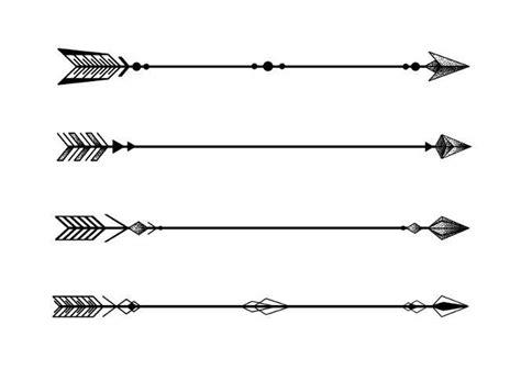 simple arrow tattoo design four minimalist geometric arrows tattoo design tattoos