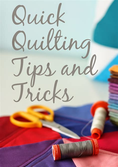 happy quilting quilting tips and tricks