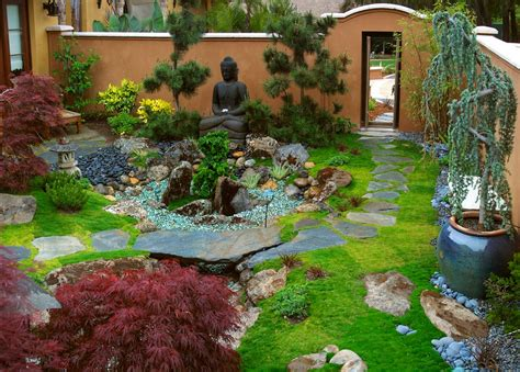 layout zen zen garden interior design ideas