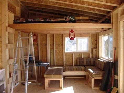 shed roof cabin  loft google search shed roof