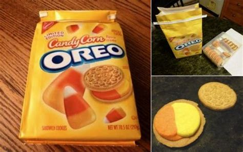 is the newest oreo flavor fried chicken first we feast review limited edition candy corn oreos huffpost