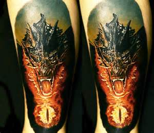 smaug dragon tattoo by andrey kolbasin photo no 13536