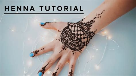 simple henna tattoo tutorial henna tutorials makedes