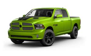 2017 ram 1500 sublime green limited edition truck