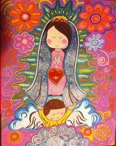imagenes de la virgen maria de caricatura m 225 s de 17 ideas fant 225 sticas sobre virgen de guadalupe