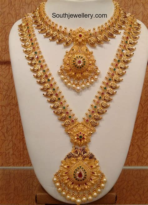 Gold Jewellery by Mango Mala Jewelry Designs Jewellery Designs