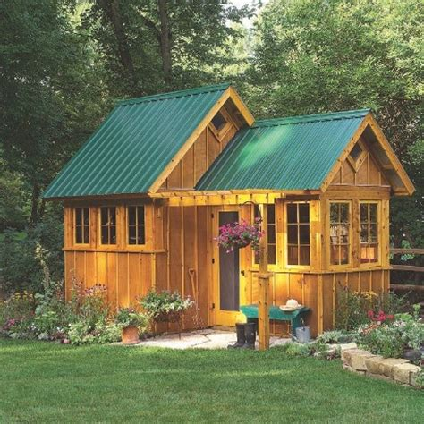 fancy garden sheds : construct your personal shed with