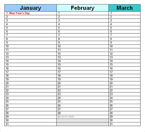 excel perpetual calendar template search results for birthday calendar word template