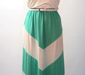 womens grace lace chevron casual sun maxi long dress 0 4 mint strapless ruched chevron color block jersey knit long