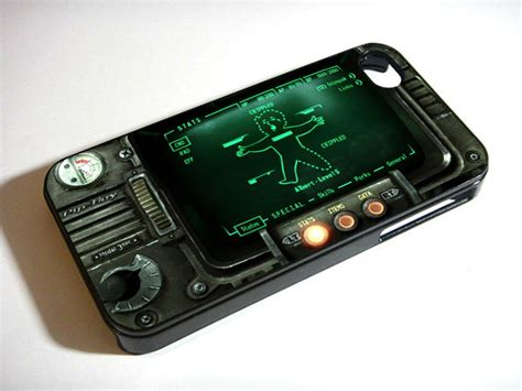 Fallout Pipboy 3000 Special A1317 Iphone 4 4s 5 5s 6 6s 6 P fallout pipboy 3000 green iphone 5s 5 4s 4 samsung galaxy note 3 s4 s3 mini pda accessories