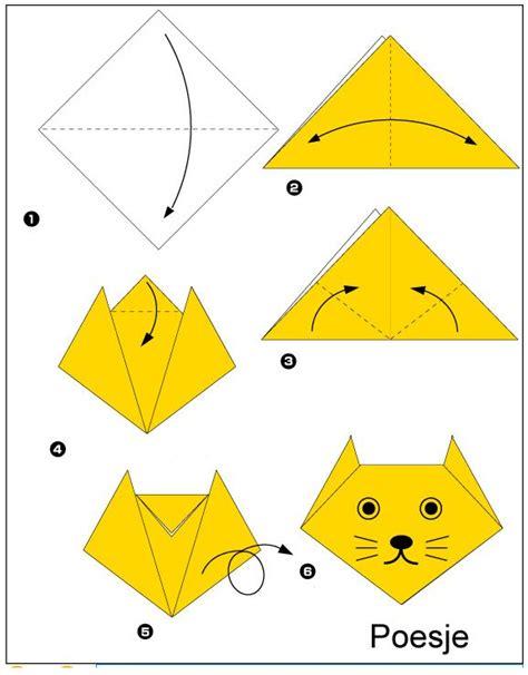 Beginners Origami - origami poesje vouwen origami origami