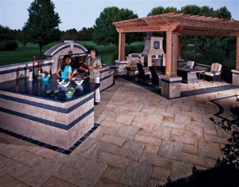 outdoor kitchen ideas afreakatheart 10 outdoor kitchen designs sure to inspire unilock