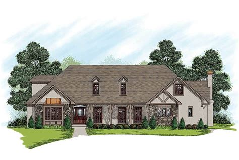 Traditional House Plans Two Story by Two Story Traditional Home Plan 20027ga Architectural