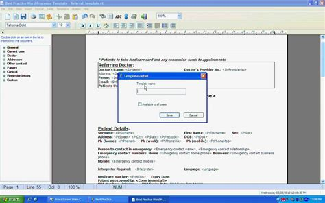 Best Practice Software Importing A Template Youtube Best Practice Report Template