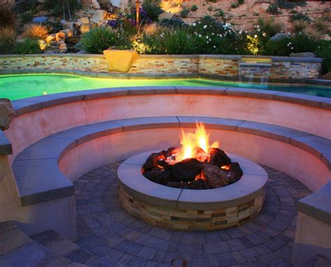 Fire Pits Installation   Landscaping Escondido   AJ Criss