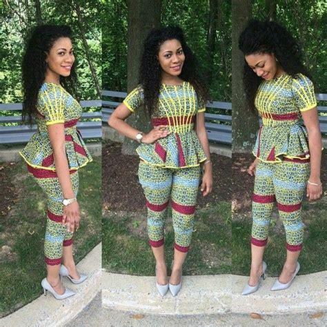 nigeria kitenge gorgeous voguish exquisite ankara styles naija