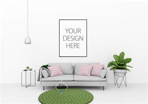 mock up your design here blank wall mockup wall art mock up by design bundles