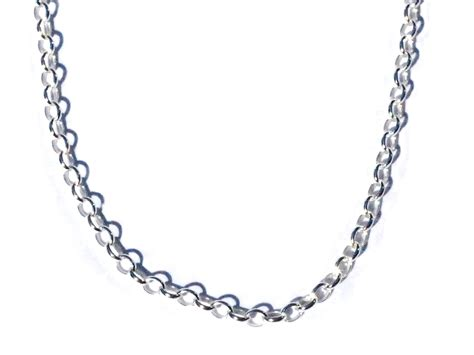 how to make neck chain with sterling silver 18 inch rolo 2 1mm neck chain necklace