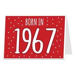 In Birthday Cards 50th Birthday Card Born In 1967 Limalima