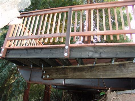 cantilevered deck slide