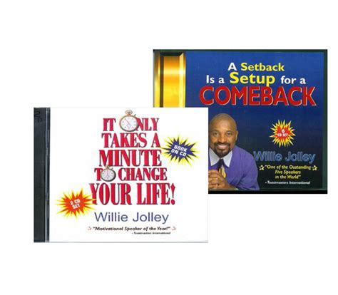 transformation through chaos a setback a comeback books dr willie jolley s audio book combo dr willie jolley