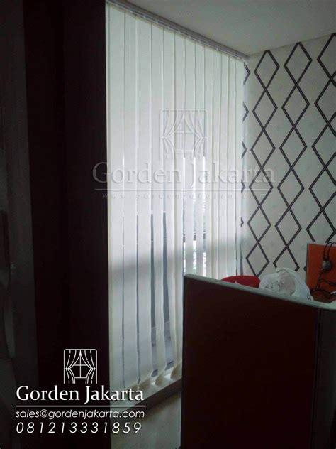 Gorden Vertical Blind Model Gorden Kantor Mana Yang Cocok Dengan Ruang Anda