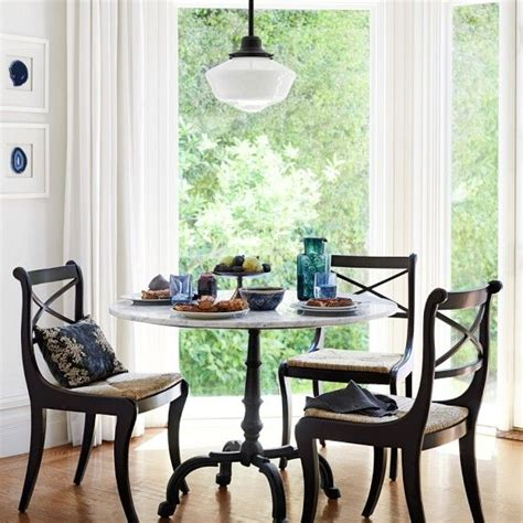 Marble Bistro Table And Chairs La Coupole Iron Bistro Table With Marble Top Williams Sonoma Bay Window Table Light