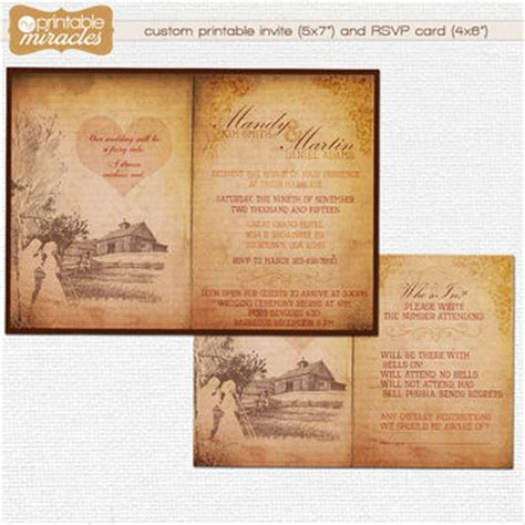 country style invitations best rustic wedding invitations products on wanelo