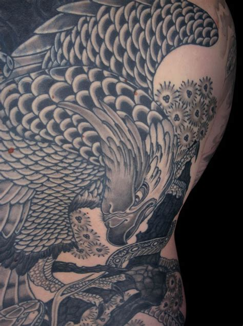 heaven and earth tattoo designs japanese eagle heaven earth inkredible ink